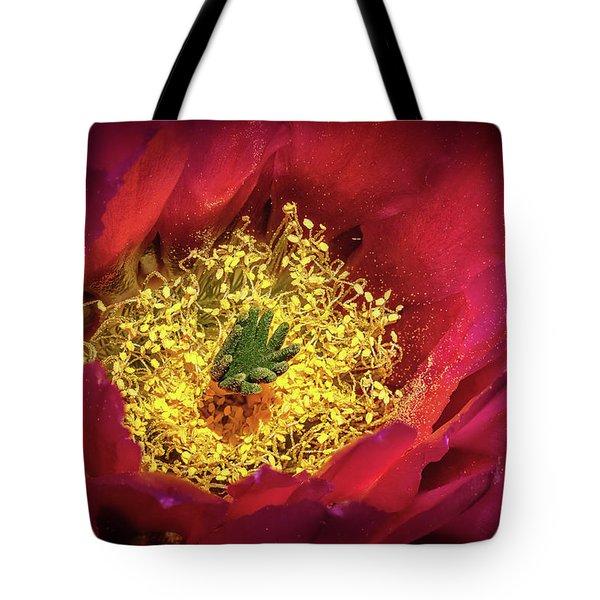 Hedgehog Bloom Tote Bag