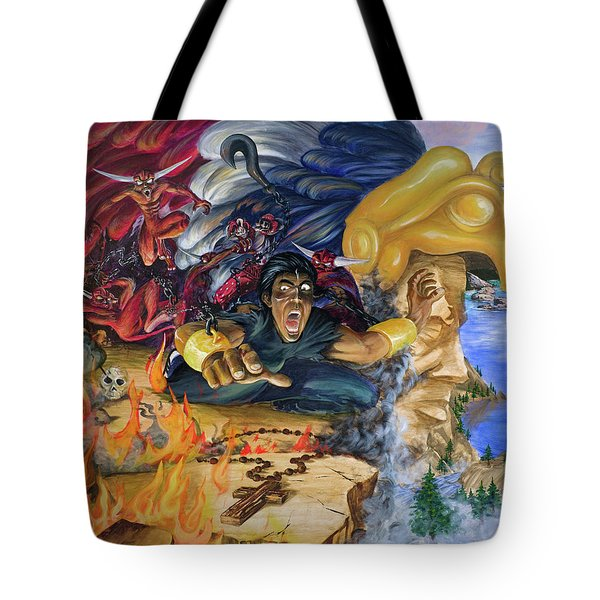 Hell Hounds On My Trail  Tote Bag
