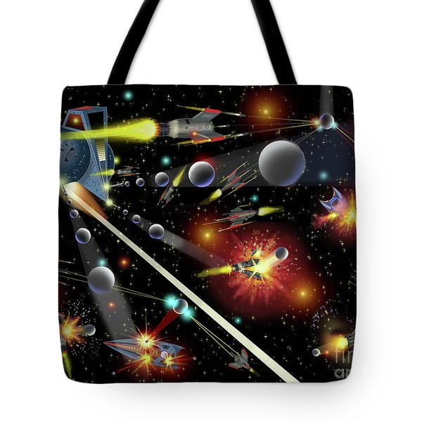 Hell In Space Tote Bag