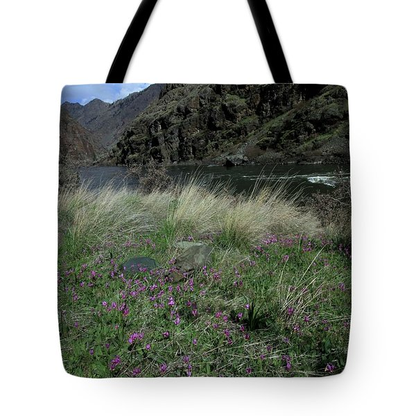 Hells Canyon National Recreation Area Tote Bag