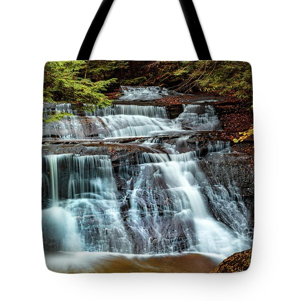 Hell's Hollow At Mcconnell's Mill Tote Bag