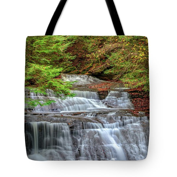 Hell's Hollow In Late Summer Tote Bag