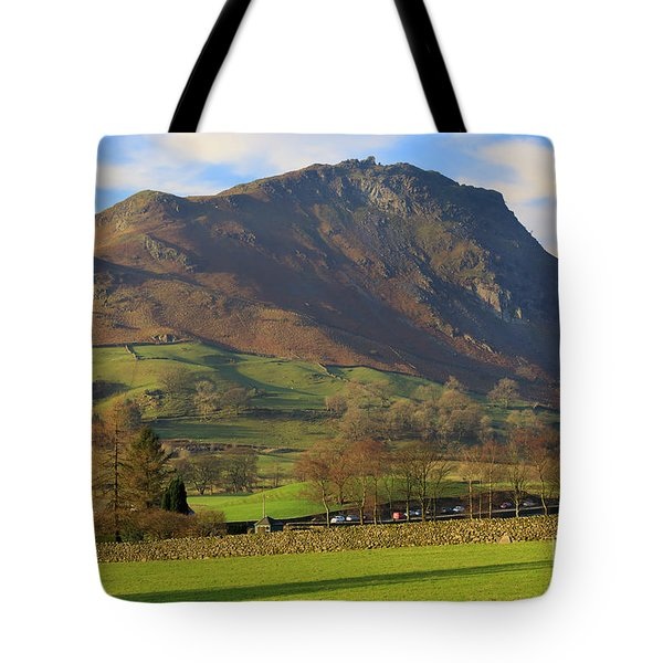 Helm Crag Near Grasmere In The Lake District National Park Tote Bag