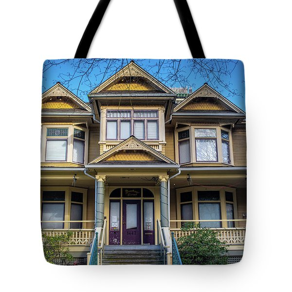 Heritage House Tote Bag