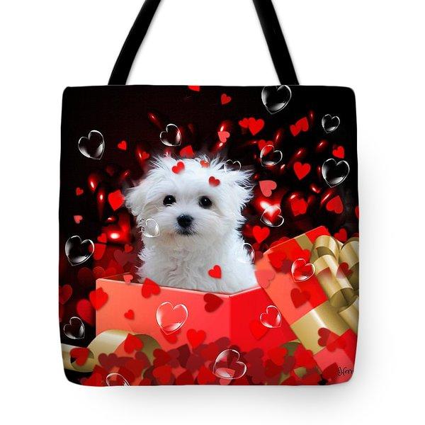 Hermes The Valentine Boy Tote Bag