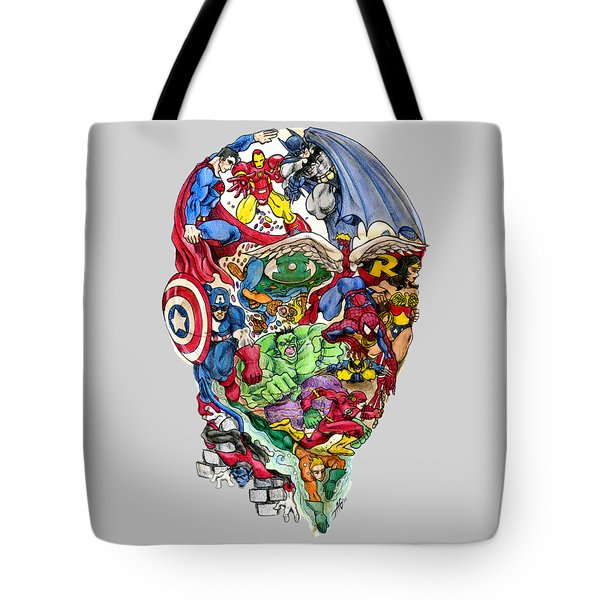 Heroic Mind Tote Bag