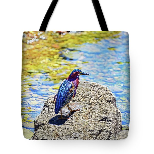 Heron Bluff Tote Bag