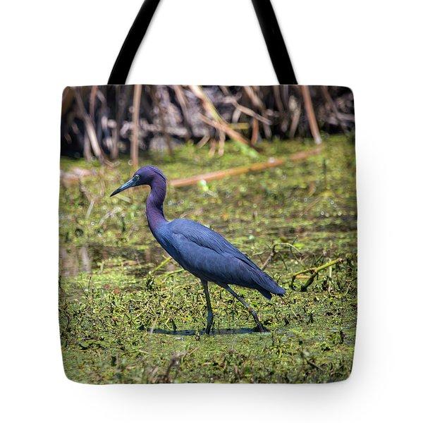 Heron Portrait Tote Bag