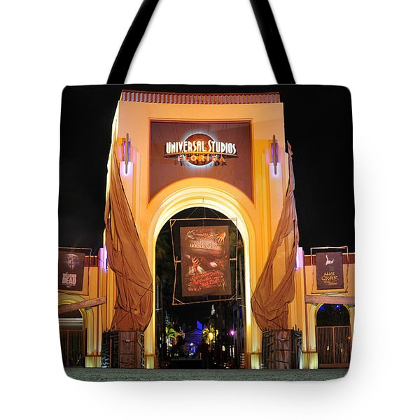 Hhn 22 Orlando Front Gate  Tote Bag