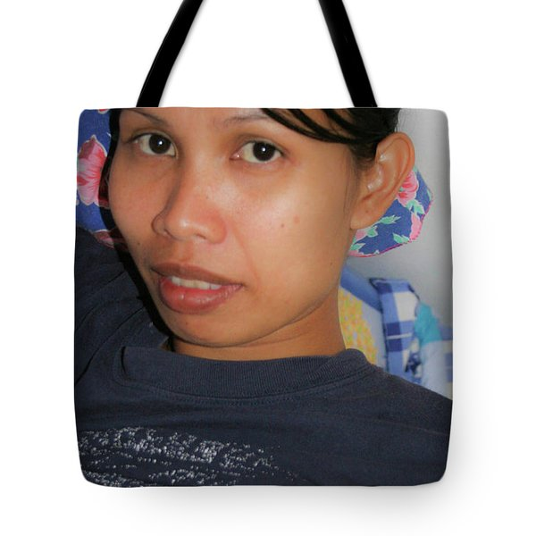 Tote Bag featuring the photograph Hi Handsome by Jeremy Holton