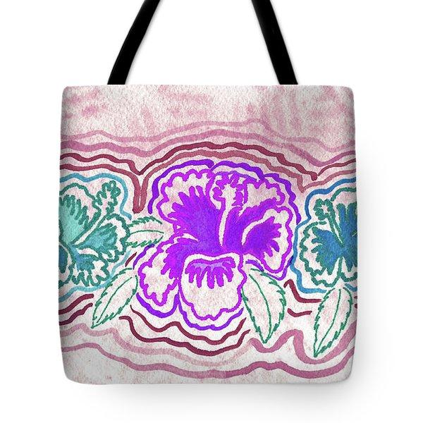Hibiscus 1003 Tote Bag