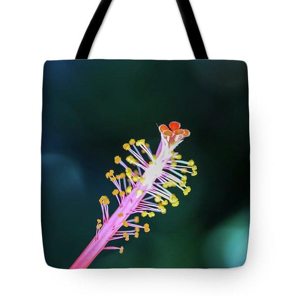 Hibiscus' Pistil Tote Bag