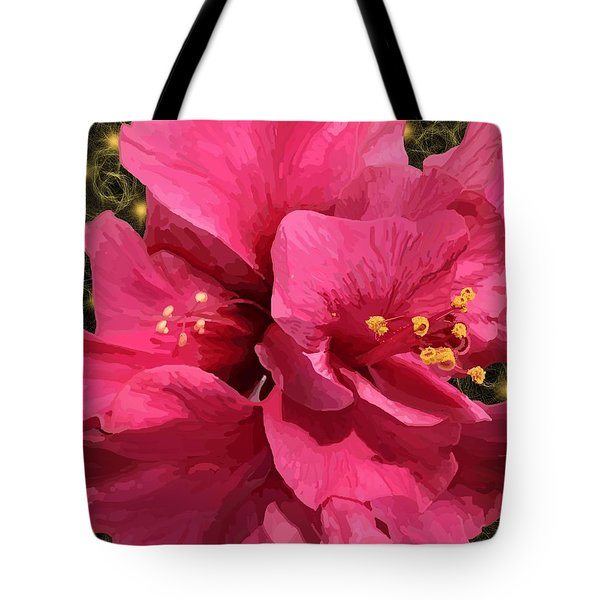 Hibiscus Pollen Tote Bag
