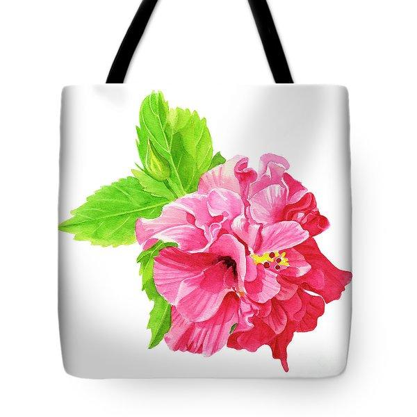 Hibiscus Rosa-sinensis Tote Bag