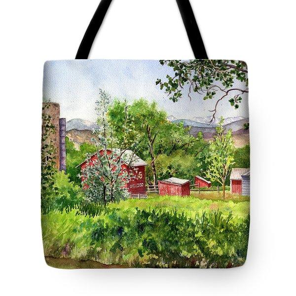 Hidden Farm Tote Bag