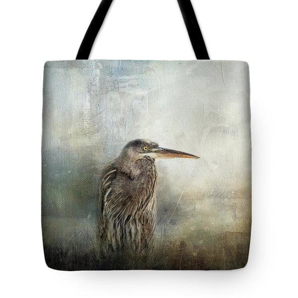 Tote Bag featuring the photograph Hiding In The Reeds by Jai Johnson