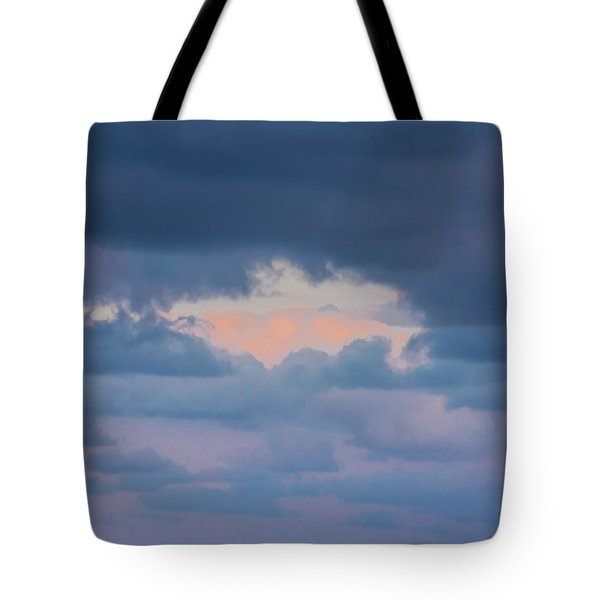 High Above The Clouds Tote Bag