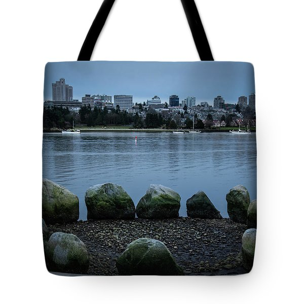 Tote Bag featuring the photograph High And Low Tide by Juan Contreras