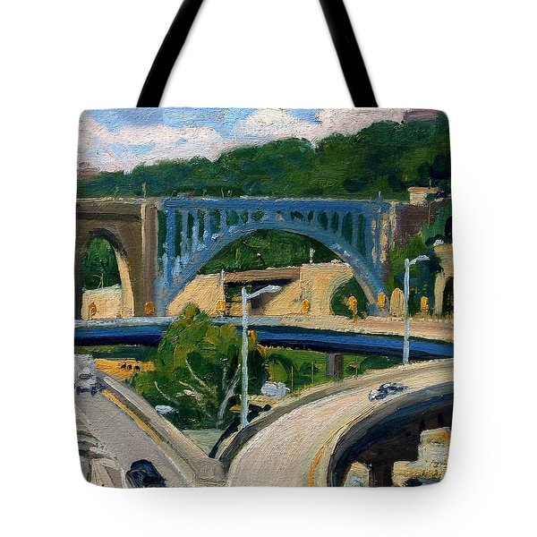 High Bridge Nyc Summer Morning Tote Bag