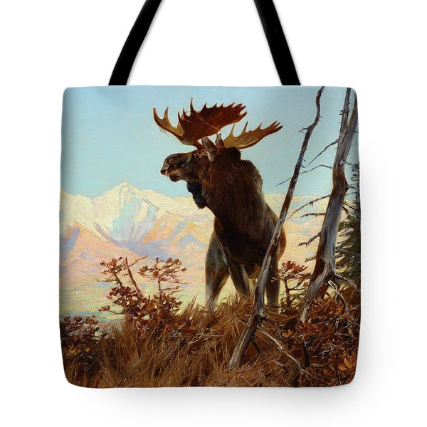 High Country Monarch, 1907 Tote Bag