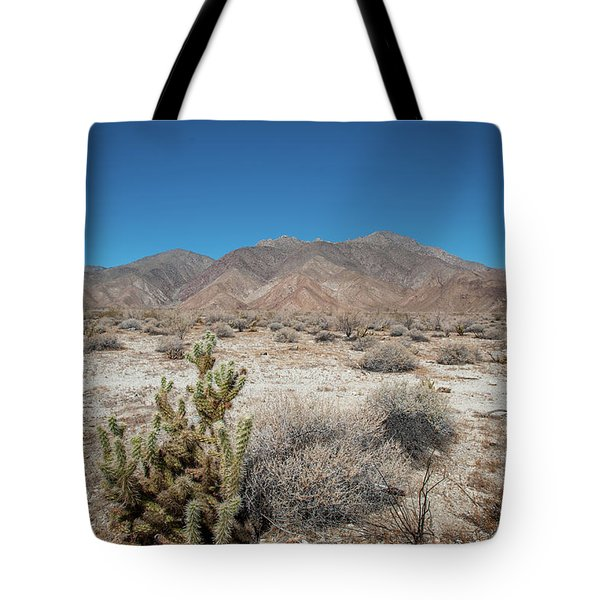 High Desert Cactus Tote Bag