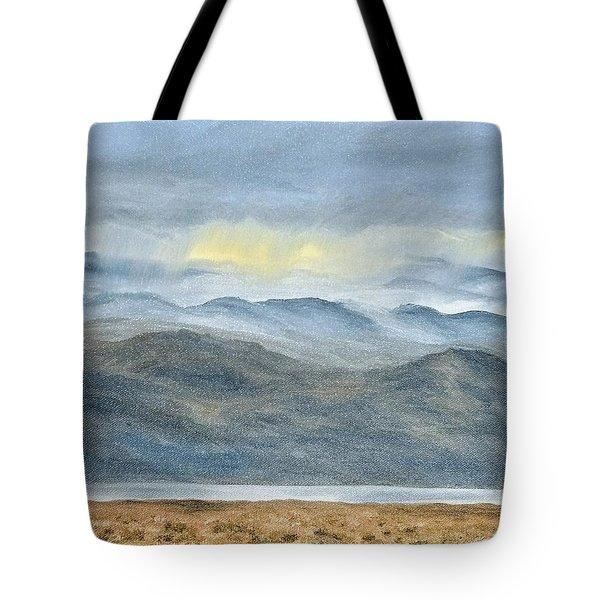 High Desert Morning Tote Bag