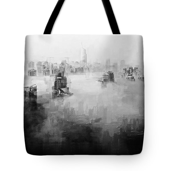 High Society Tote Bag