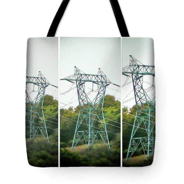 High-voltage Power Transmission Towers 1 Tote Bag