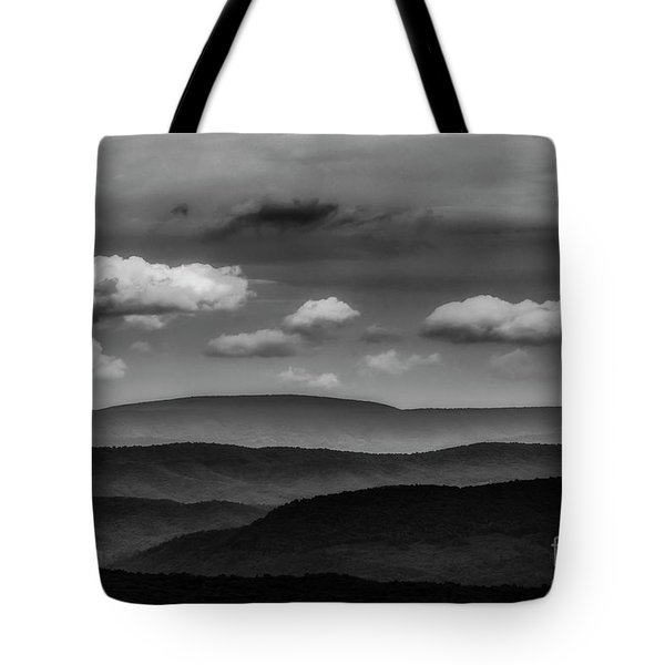 Highland Clouds And Ridges  Tote Bag