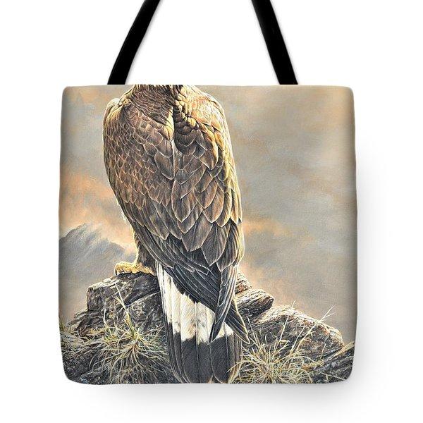 Highlander - Golden Eagle Tote Bag