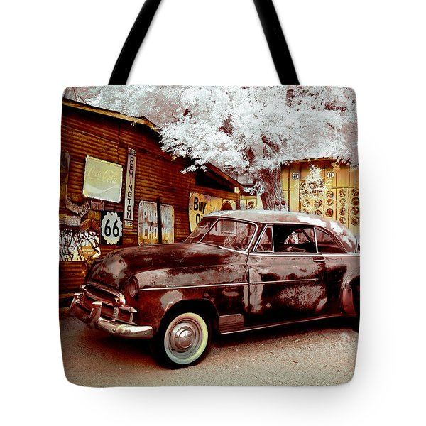 Highsmith Old Car Tote Bag