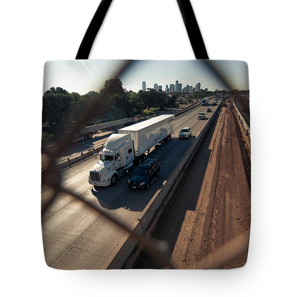 Highway Capture Tote Bag