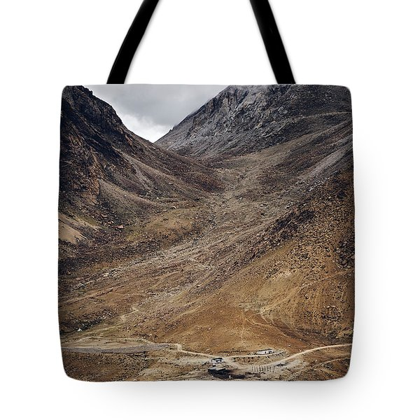 Tote Bag featuring the photograph Himalayan Outpost by Whitney Goodey