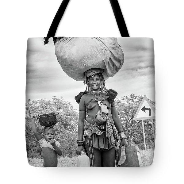 Himba Both Carrying  Tote Bag