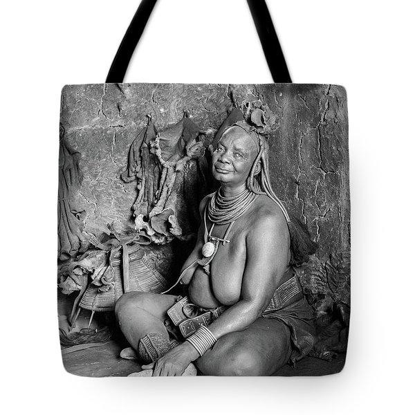Himba Grand Mother Tote Bag