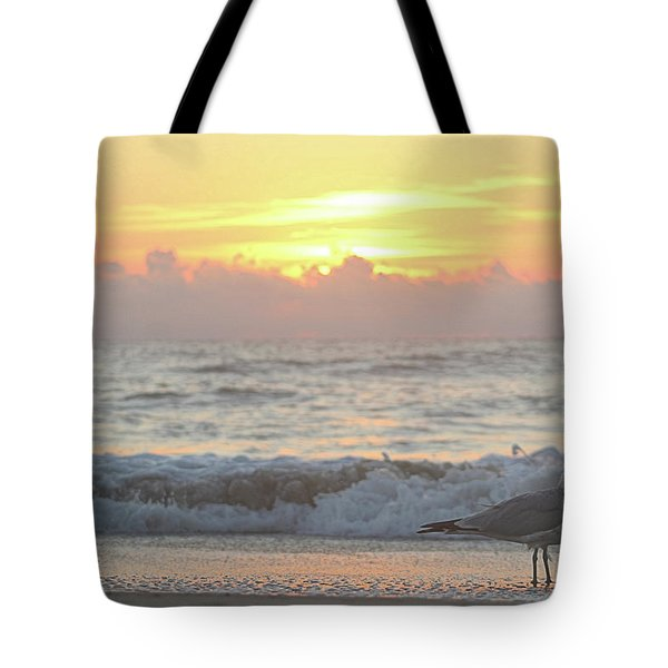 Tote Bag featuring the photograph Hint Of Sunrise by Robert Banach