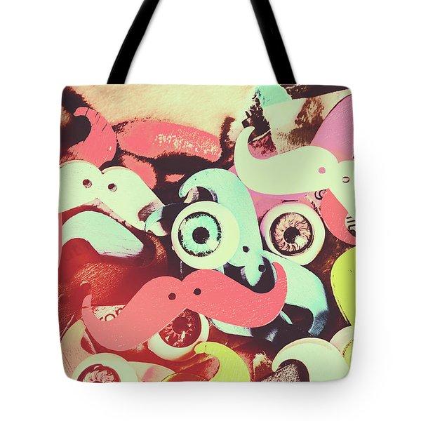 Hipster Trickster Tote Bag
