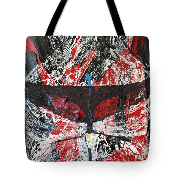 His Fiery Darkness Is Free Tote Bag