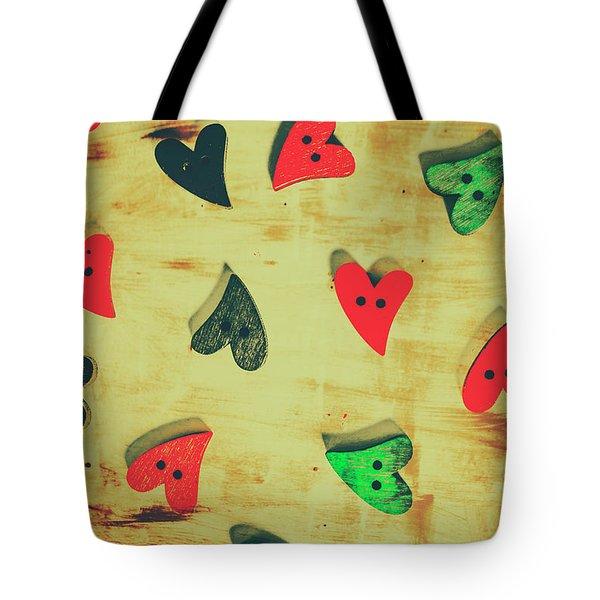 Historic Hearts Tote Bag