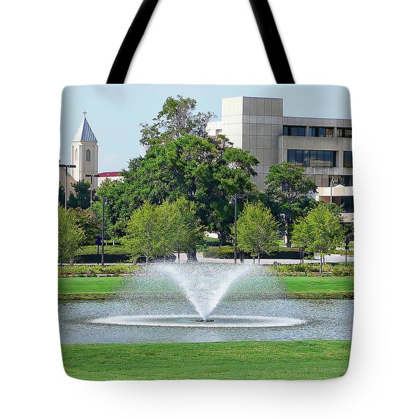 Tote Bag featuring the photograph Historic Pensacola by Anthony Dezenzio