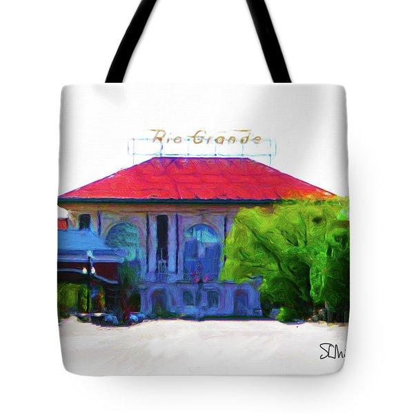 Historic Rio Grande Station Tote Bag
