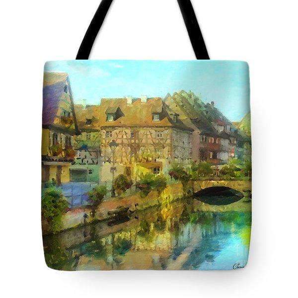 Historic Village On The Rhine Tote Bag
