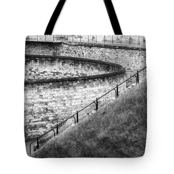 Lincoln Castle Tote Bag