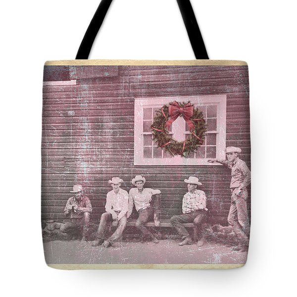 Hitch Post Holiday Tote Bag
