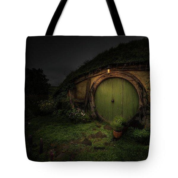 Hobbiton At Night #1 Tote Bag