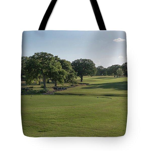 Hole #18 Tote Bag