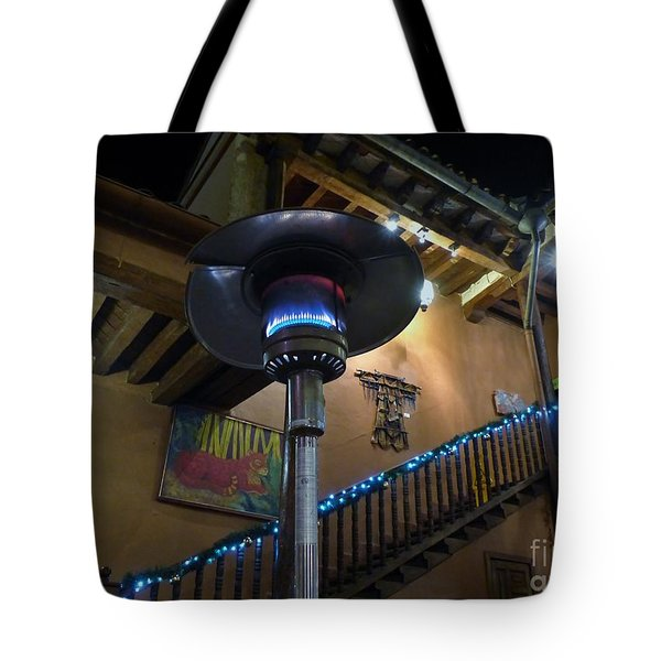 Tote Bag featuring the photograph Holiday Dining In Patzcuaro by Rosanne Licciardi