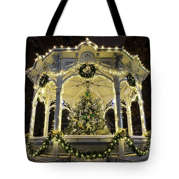 Holiday Lights - Gazebo Tote Bag