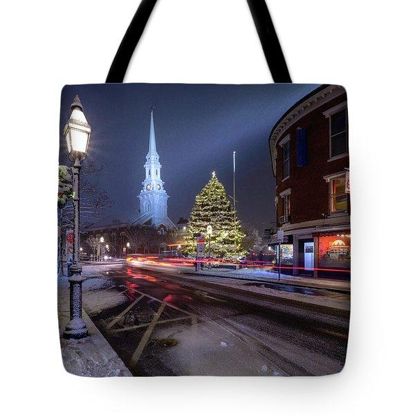 Holiday Magic, Market Square Tote Bag