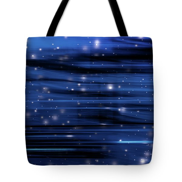 Tote Bag featuring the photograph Holiday Night IIi by Anne Leven
